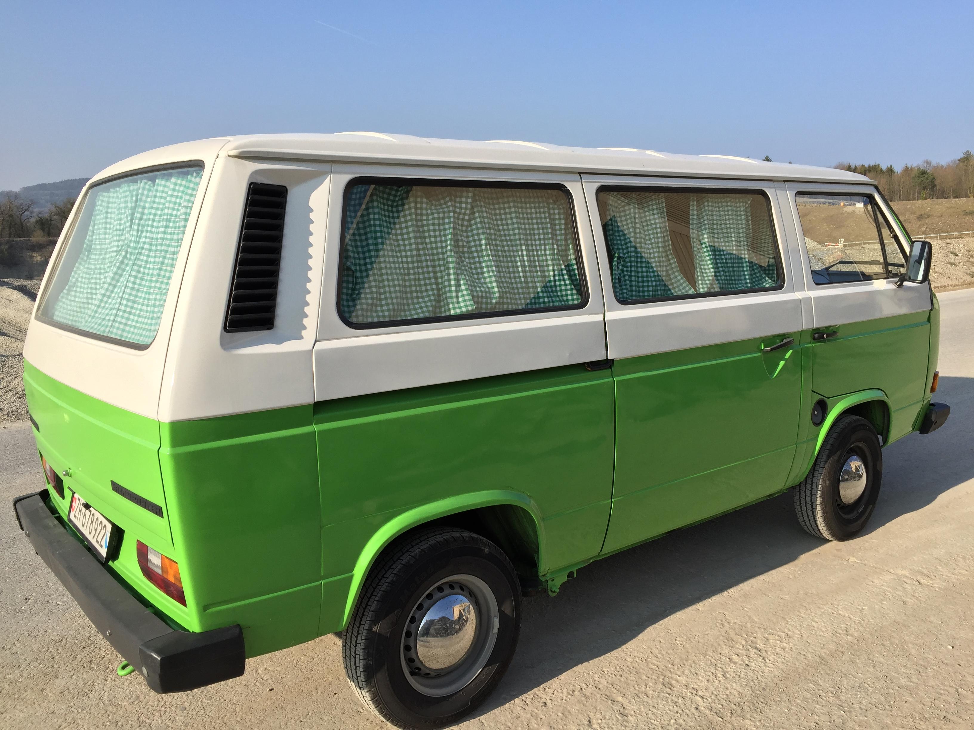 Der grüne Bus