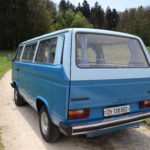 Unser blauer Bus